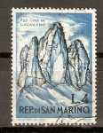 Sellos de Europa - San Marino -  LOS   TRES   PICOS   DE   JAVAREDO