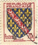 Stamps France -  Marche