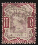 Stamps United Kingdom -  Queen Victoria Jubilee Issue
