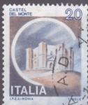 Sellos de Europa - Italia -  castillo del monte