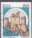 Stamps Italy -  roca di calascio