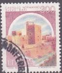 Sellos de Europa - Italia -  castillo normanno svevo -bari