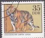Stamps Germany -  zoologico- leipzig