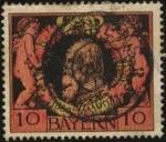 Stamps : Europe : Germany :  25 aniversario de la regencia
