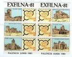 Sellos del Mundo : Europa : España :  HB Recuerdo Exfilna 81