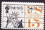 Stamps United States -  estatua de la libertad