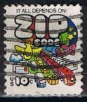 Stamps : America : United_States :  Scott  1511 Zip Code (2)