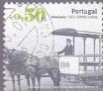 Sellos de Europa - Portugal -  foto-museo de carros