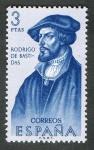 Stamps Europe - Spain -  1380- Forjadores de América. Rodrigo de Bastidas ( 1475-1527 ).