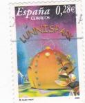 Stamps Spain -  lunnispark