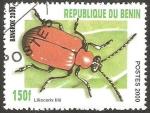 Stamps : Africa : Benin :  Lilioceris lilii