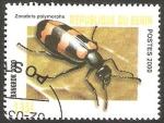 Stamps : Africa : Benin :  Zonabris polymorpha