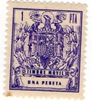 Stamps of the world : Spain :  Timbre movil