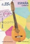 Sellos de Europa - España -  instrumentos musicales- laud