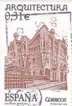 Sellos de Europa - España -  arquitectura-casa vicens  Barcelona