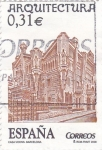 Stamps Spain -  arquitectura-casa vicens  Barcelona