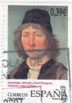 Sellos de Europa - España -  autorretrato atribuido a Pedro Berruguete