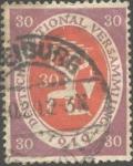 Stamps : Europe : Germany :  Asamblea constituyente de la República de Weimar