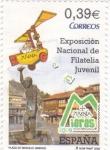 Sellos de Europa - España -  exposición nacional de filatelia juvenil