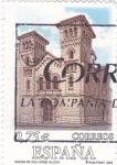Stamps Spain -  iglesia de  san jorge (alcoy)