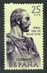 Stamps Spain -  1374-  Forjadores de América. Sebastián de Belalcázar ( 1480-1551 ).