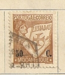 Stamps Africa - Mozambique -  Nave