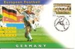 Sellos del Mundo : Africa : Gambia : 2049 - S.P.D., Europeo de fútbol en Inglaterra, Selección de Alemania