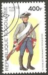 Stamps : Africa : Togo :  Uniforme militar
