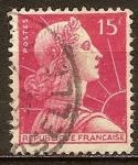 Sellos de Europa - Francia -  Marianne de Muller.