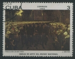 Sellos de America - Cuba -  Procesión en Bretaña
