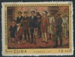 Sellos de America - Cuba -  Cent. Fusilamiento de los Estudiantes