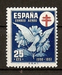 Stamps Spain -  Pro Tuberculosos.
