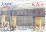 Sellos de Europa - España -  II centenario de la escuela de ingeniería de caminos, canales  y puertos de madrid  1802-2002 puente