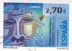 Sellos de Europa - España -  parque arqueológico carranque- toledo