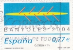 Sellos de Europa - España -  campionat del mon de rem -Bañoles 2004