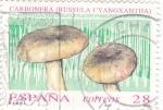 Sellos de Europa - España -  micología-carbonera