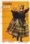 Stamps Spain -  bailes y danzas populares-el candil