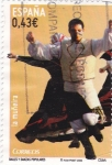 Stamps Spain -  bailes y danzas populares-la muñeira