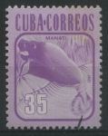 Sellos de America - Cuba -  Manatí