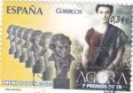 Sellos de Europa - España -  premios goya 2010- agora