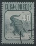 Sellos de America - Cuba -  Cocodrilo