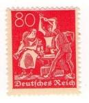 Stamps Germany -  Herreros