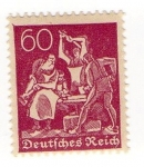 Stamps Germany -  Herreros