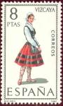 Sellos del Mundo : Europa : España : 1971 Trajes Típicos Españoles. Vizcaya - Edifil:2016
