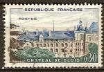 Sellos del Mundo : Europa : Francia : Castillo de Blois.