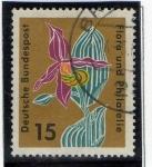 Stamps Germany -  Flora y filatelia
