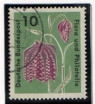 Stamps Germany -  Flora y filatelia