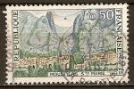 Sellos del Mundo : Europa : Francia : Moustiers-Sainte-Marie( Mostiers Santa Maria)bajos alpes
