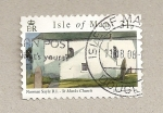 Stamps Europe - Isle of Man -  Iglesia de San Mark