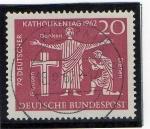Stamps Germany -  Dia de la religión católica